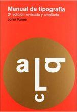 manual de tipografía Kane